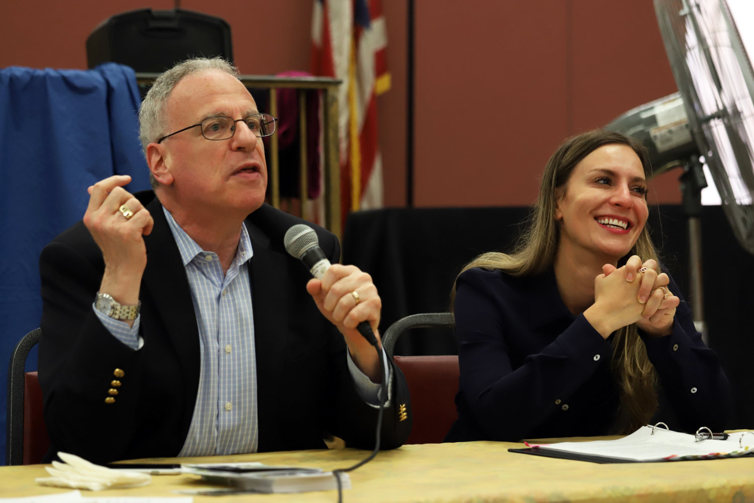 Both Assemblyman Jeffrey Dinowitz and state Sen. Alessandra Biaggi are working on legislation that will allow people to continue voting, even during coronavirus crisis concerns.