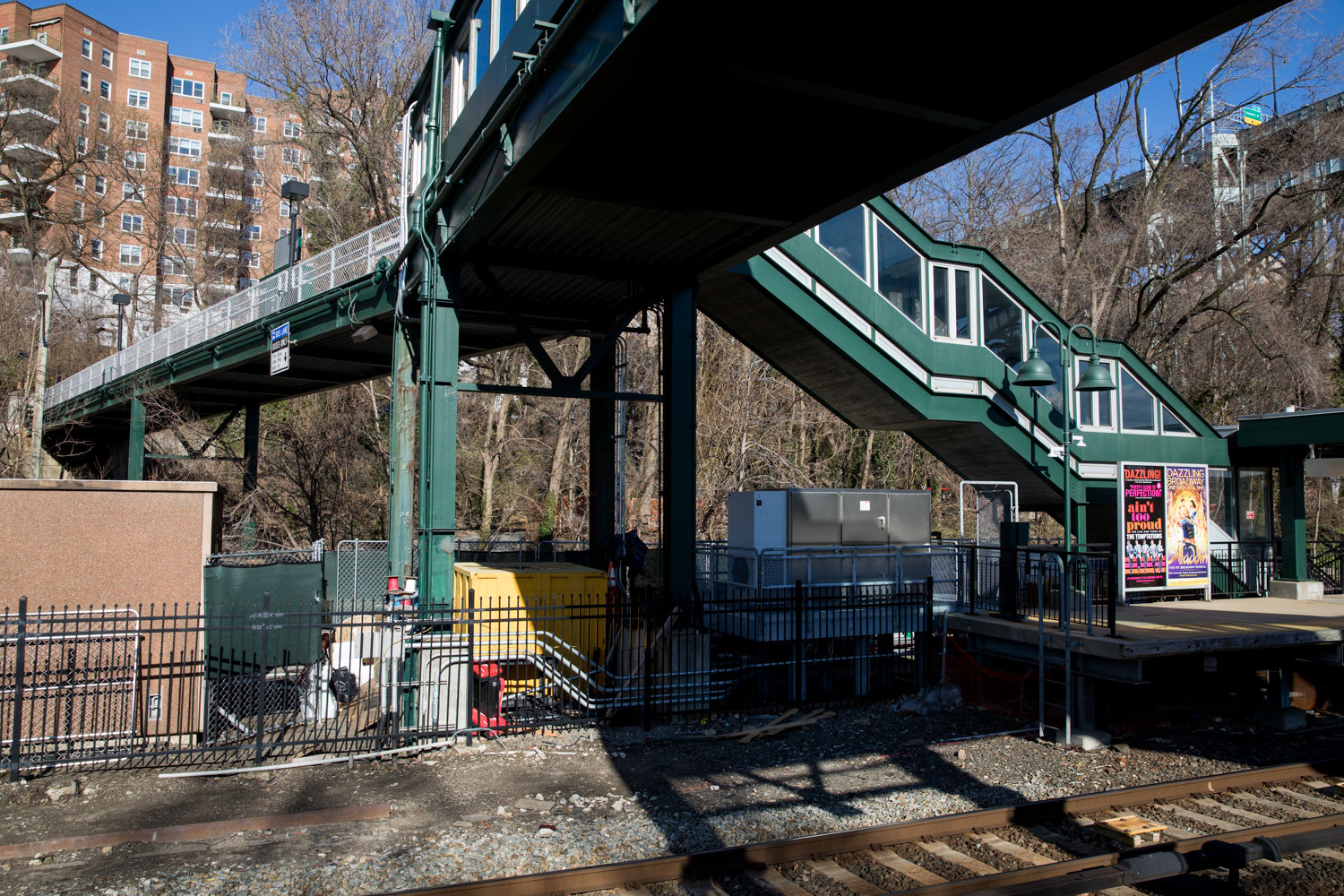 The Spuyten Duyvil Metro-North station is not, like a number of stations, compliant in properly fulfilling the needs of passengers with disabilities. Commuters, especially those with mobility issues, are frustrated with its continued lack of accessibility.