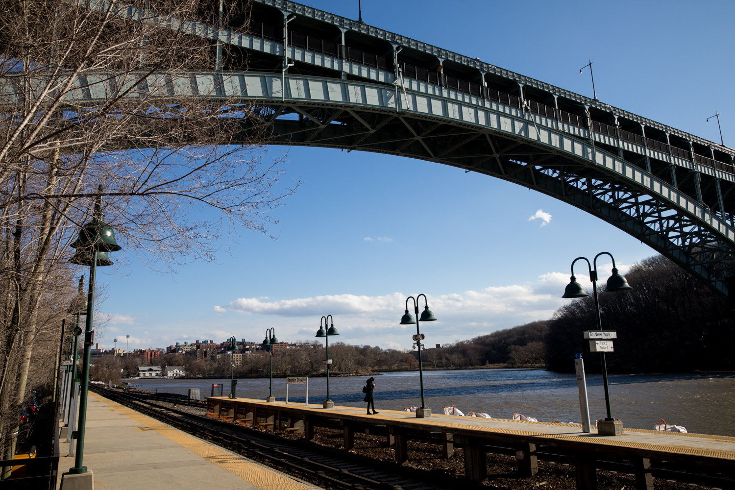 The Spuyten Duyvil Metro-North station is known for its picturesque views. What it isn't known for is being accessible to those who have personal mobility issues, and might not be able to climb or descend the stairs connected to the station.