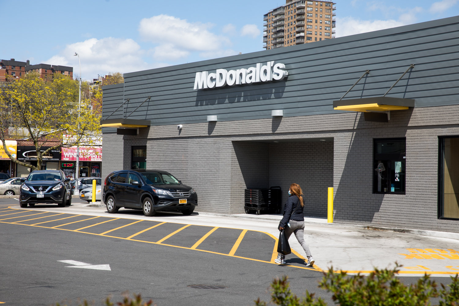 McDonald's has removed its dine-in option following the advent of the coronavirus pandemic while other restaurants have struggled to keep business up with some closing completely.