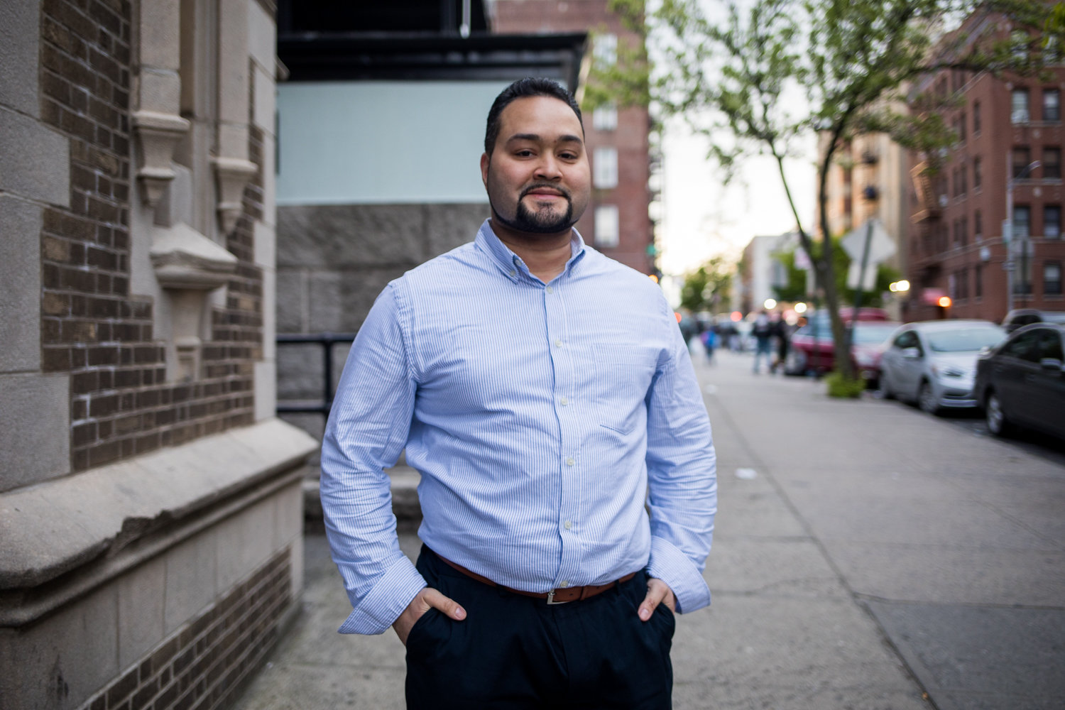 George Diaz Jr., in his campaign against Assemblyman Jeffrey Dinowitz, hopes to make his progressive platform a reality. In the meantime, he has the unique distinction of being Dinowitz's first-ever primary challenger.