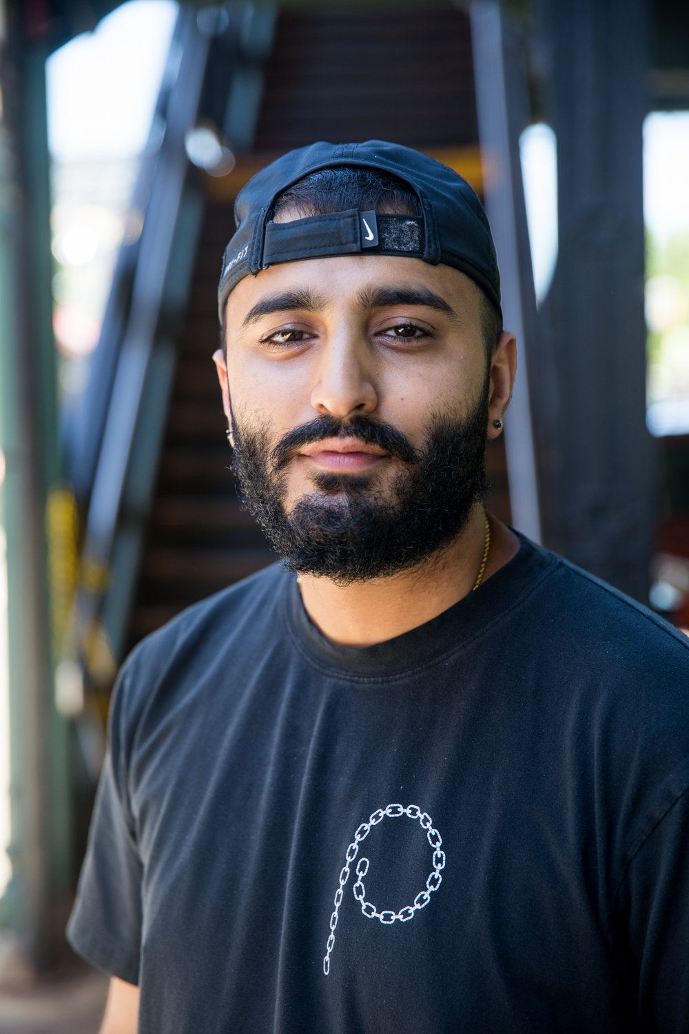 Pardeep Singh Deol , owner of The Last Stop, was on board with the 'friendly fridge' idea from the beginning. In the weeks since it's been stationed outside his 5977 Broadway eatery, the fridge has been full of food available to those who need it for free.