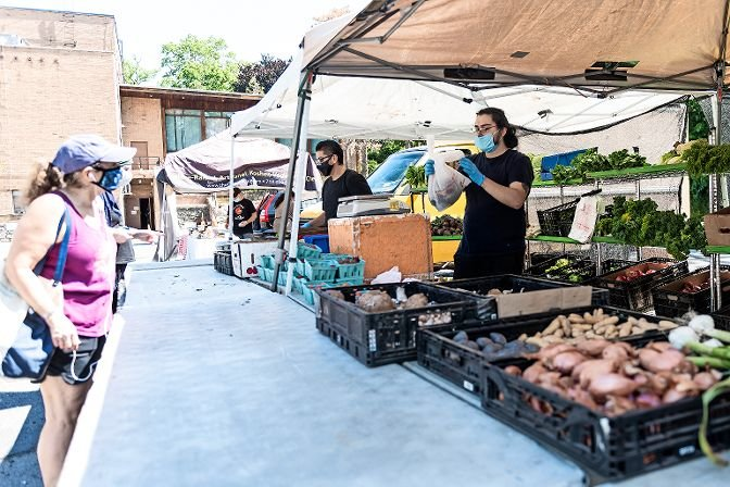 Sunday Market, The Riverdale Y is host to a destination farmer?s market every week at Riverdale Temple 4545 Independence Ave. , June 21st 2020