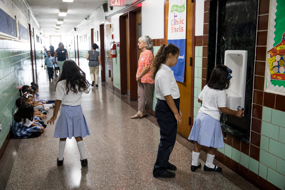 St. John's School is one of 20 being closed permanently by the Archdiocese of New York after dwindling attendance, exacerbated by the coronavirus pandemic.