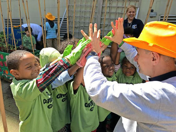 Green Bronx Machine founder Stephen Ritz has worked to provide students with healthy foods while learning how to grow their own produce — all in an effort to cultivate a healthy lifestyle.