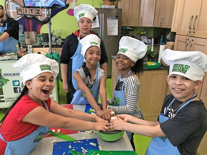 Green Bronx Machine works to provide students with healthy foods while also teaching them to grow and cook their own. Throughout the coronavirus pandemic, the nonprofit has conducted online cooking classes using ingredients delivered to each student's home.