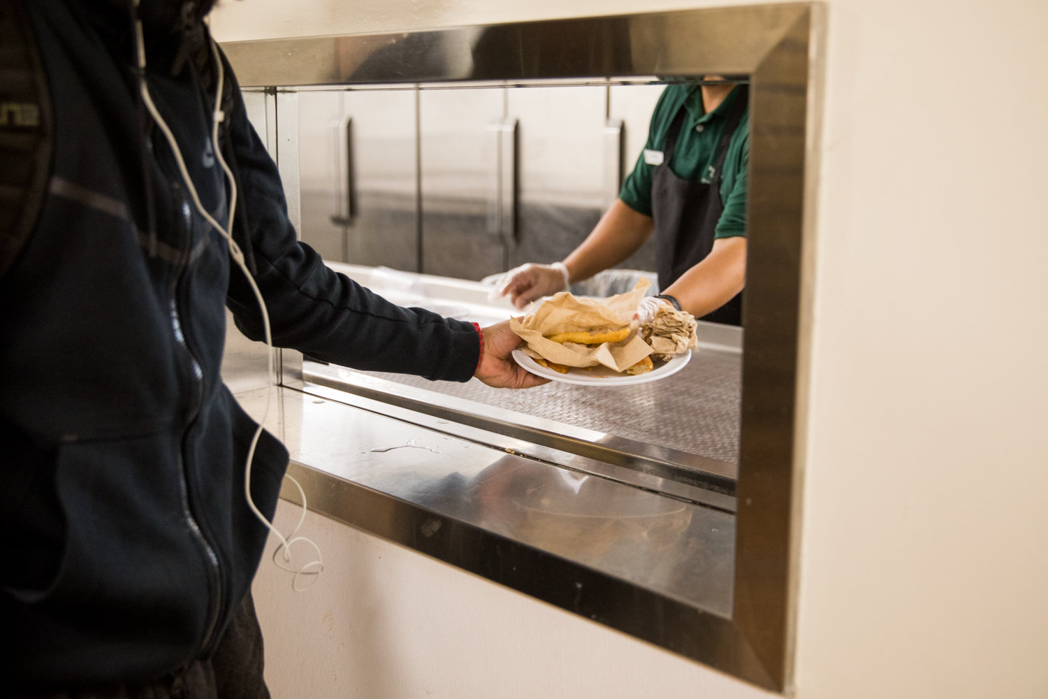 One of the services Aramark Corp., will oversee at Manhattan College is dining. The company also provides food for prisons across America, which has become an area of contention among several members of the college community.