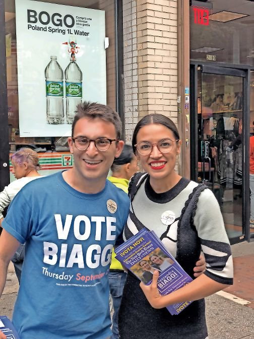 Christian Amato, a former staffer for state Sen. Alessandra Biaggi and campaign manager for the unsuccessful congressional race of Andom Ghebreghiorgis, has some concerns about the growing influence of the new political group Justice Democrats. That group is quickly gaining nationwide prominence, especially with major victors along the lines of both U.S. Rep. Alexandria Ocasio-Cortez in 2018 and Congressional Democratic nominee Jamaal Bowman this year.