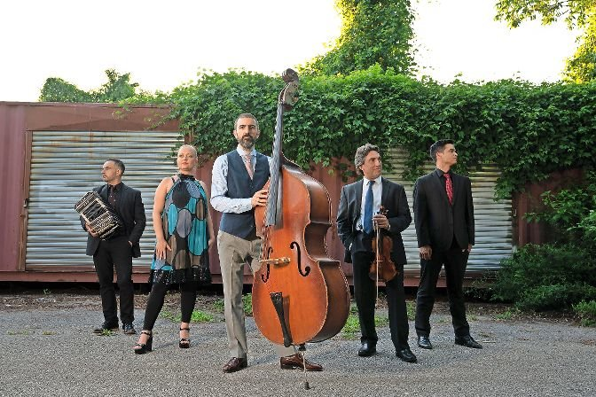 Award-winning musician Pedro Giraudo and his band perform at the Hudson River Museum in Yonkers to an audience limited to 50 people due to social distancing in the wake of the coronavirus pandemic.