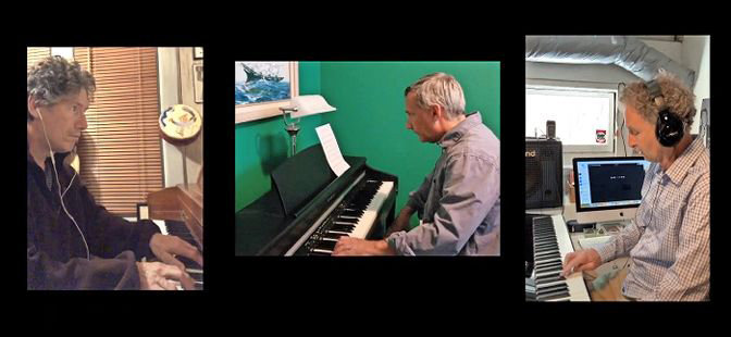 Professional musician and improvisational artist Ron Drotos and 50 of his students of all ages from around the world gathered together to create a 'World Piano Jam,' a semi-improvised piece of numerous different styles and genres.