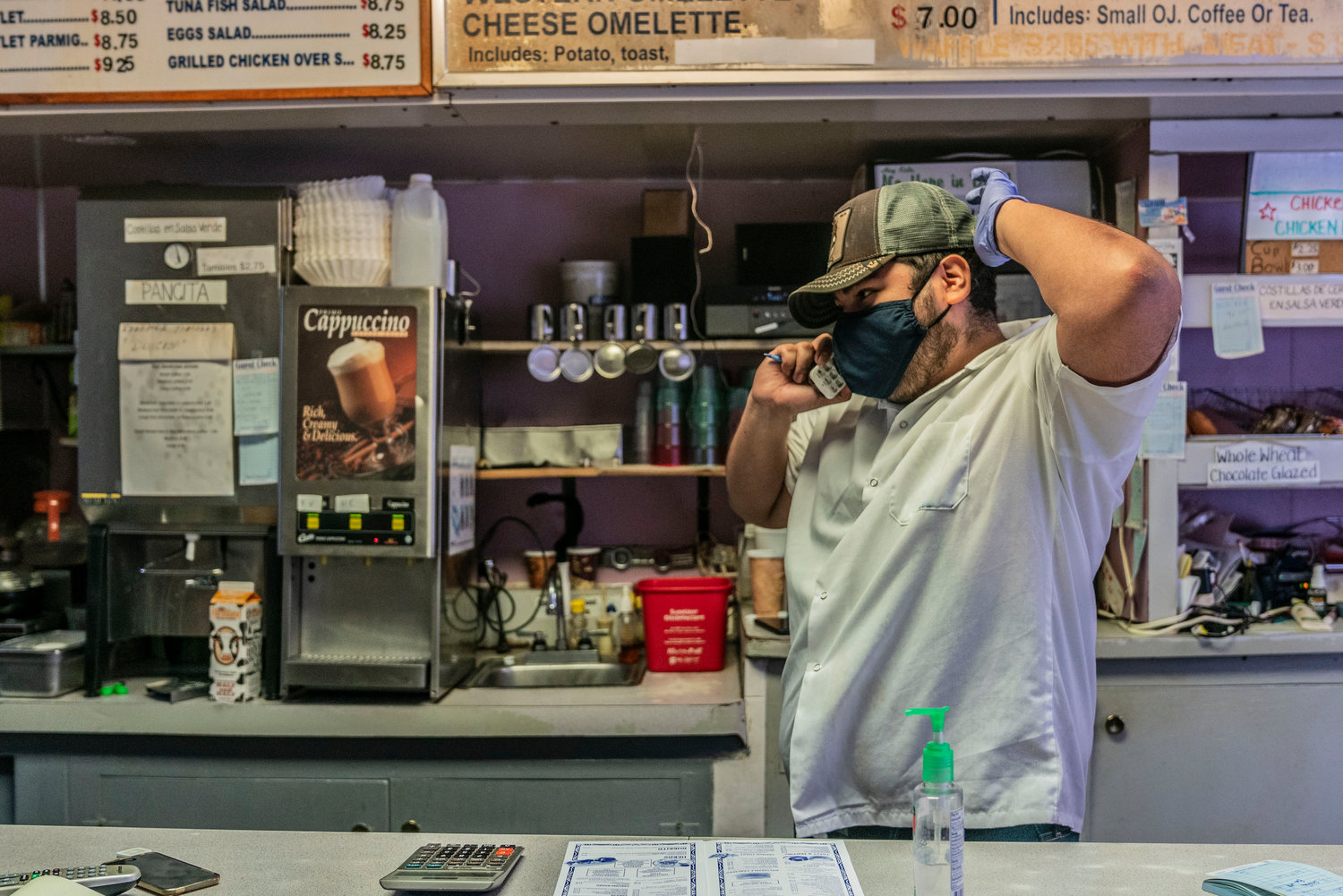 Seven months of the pandemic have taken a toll on the Kingsbridge Donut Shop. Rent is just too high, says owner Fernando Rodríguez — something they struggled to pay even before the pandemic. Now, with months of lost revenue, Rodriguez believes there's just no way to recover.