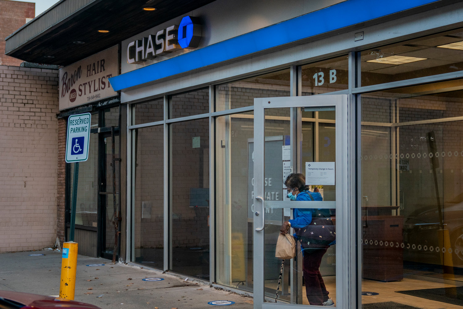 Low foot traffic, nearby branches, and more customers using online services all contribute to the decision to close a branch — but neighbors say the Knolls Crescent location of Chase Bank is critical for older customers and small businesses making cash deposits.
