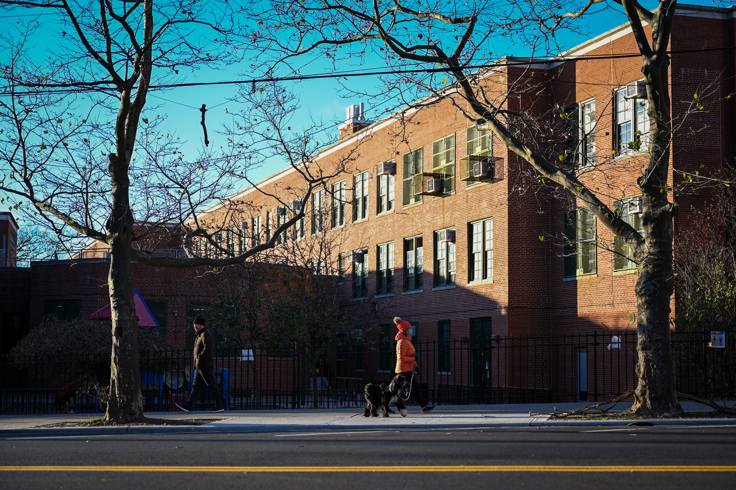 Public schools experienced a 'phased-in' reopening process in late September and early October. But come November, the buildings shuttered once again after the city's weekly positive coronavirus test rate reached 3 percent.