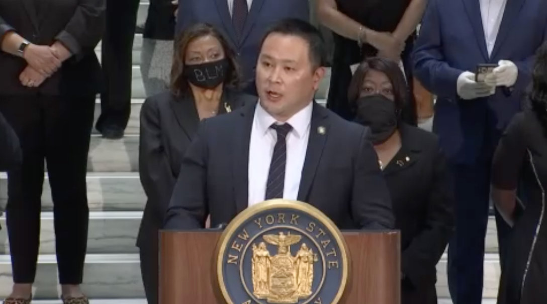 Assemblyman Ron Kim claims Gov. Andrew Cuomo called him last week and threatened him over comments he made to a newspaper claiming the executive branch may have violated the law when it withheld nursing home death statistics last year.