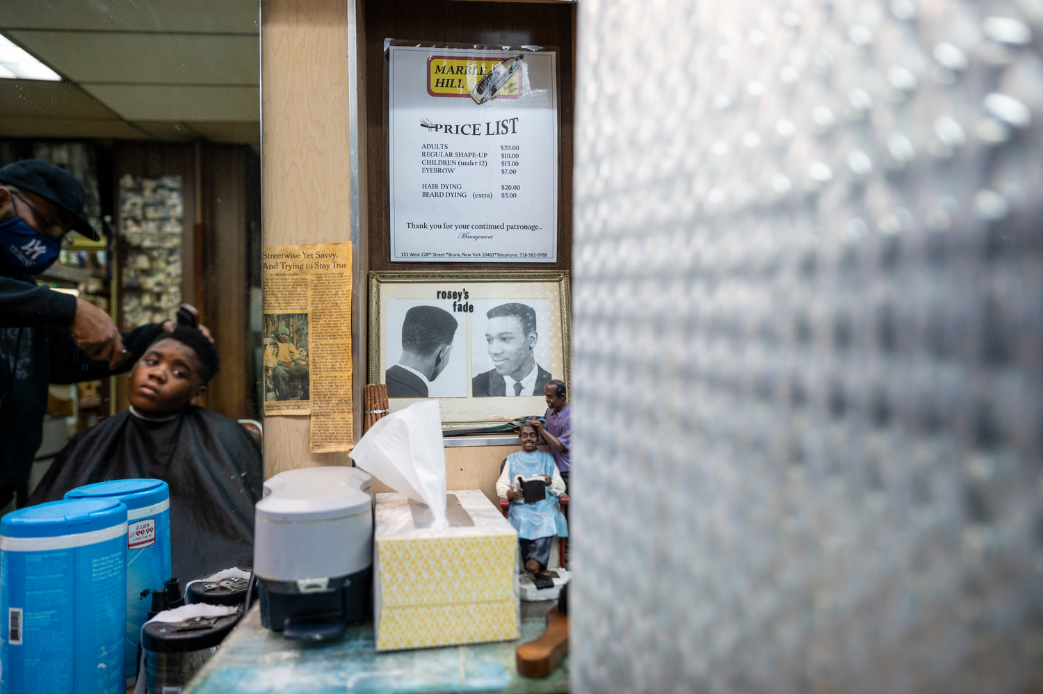 Rosey's Barber Shop, an informal name for Marble Hill's International Unisex Salon, has served the northern Manhattan neighborhood for nearly 60 years. Neighbors consider its owner, Roosevelt Spivey, a cherished member of the community. When Rosey's landlord tried to raise his rent last year, that same community rallied around him, helping him fight to keep his shop.