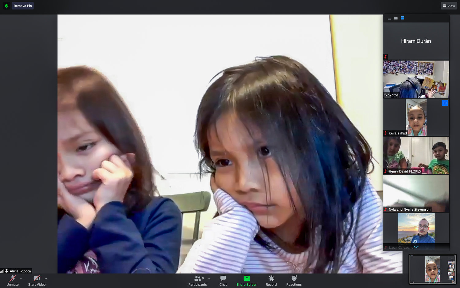 Some children are more invested in read-alouds than others. But regardless of level of interest, pediatricians at the Children's Hospital at Montefiore stress it's vital to language development. That's why they hosted a read-along on the Zoom online videoconferencing app last month.