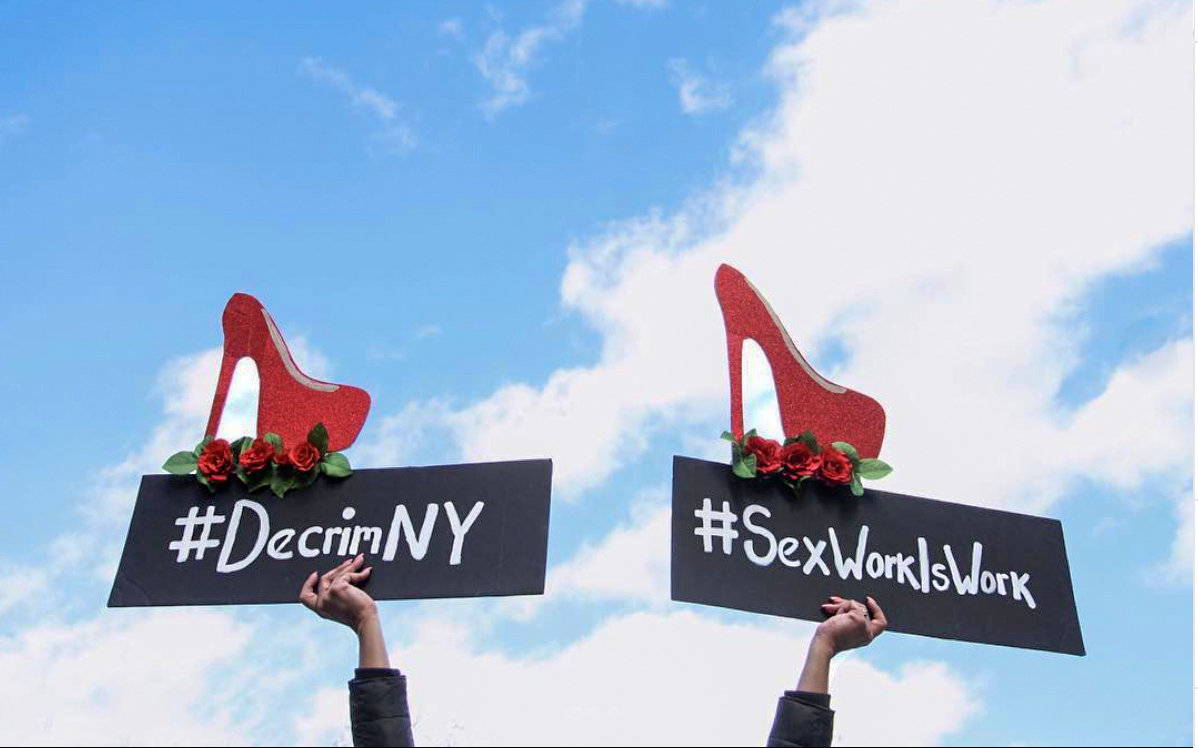 DecrimNY is one of several organizations advocating for sex work decriminalization in the state. There are currently two decriminalization bills on Albany's docket, including the Sex Trade Survivors Justice and Equality Act, and the Stop Violence in the Sex Trades Act — the latter of which is endorsed by DecrimNY.