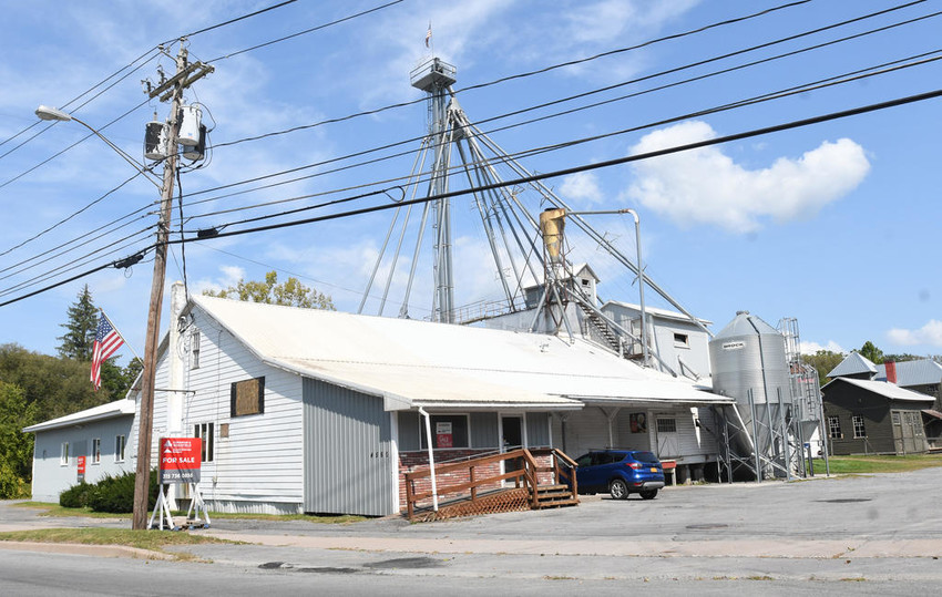 MOVING ON — Pohl's Feedway is for sale in the Village of Vernon.  (Sentinel photo by John Clifford)