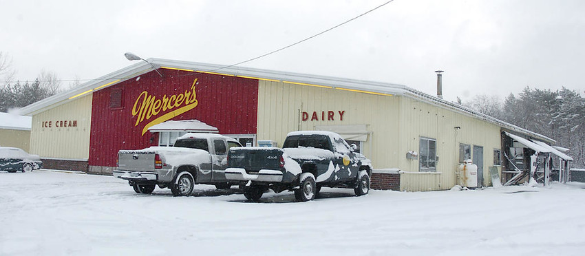 MADE IN BOONVILLE — Wine-infused ice cream is among the frozen treats offered by Mercer's Dairy, Route 12. Today's Mercer's got its start in the 1930s when Ralph Manzer began bottling milk from his farm.  (Sentinel file photo)