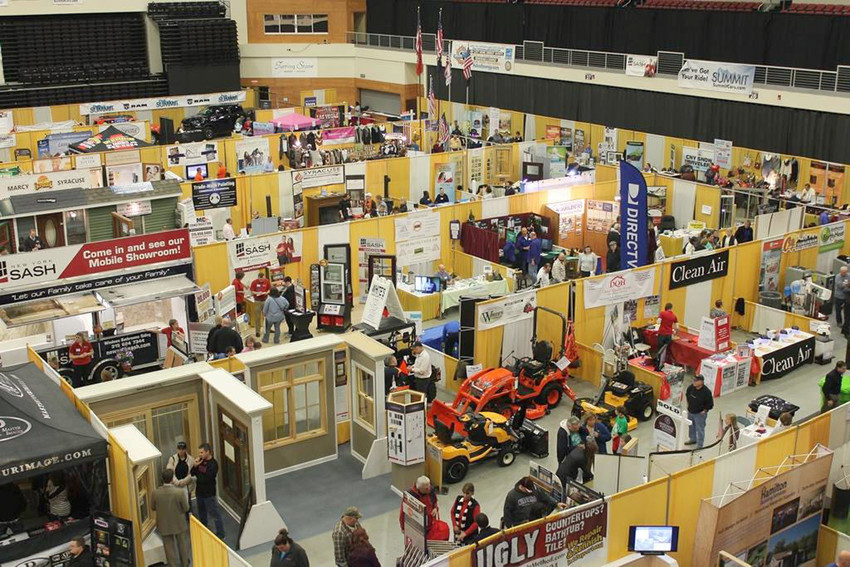 WORLD OF HOME IMPROVEMENT — The 2017 AmeriCU Credit Union Home Show at Turning Stone Resort Casino will host 140 exhibitors to answer questions on home ownership and upkeep. The Home Show is the area's largest showcase of home improvement products and services, and over 24,000 consumers have visited the show since it opened in 2012.  (Photos submitted)
