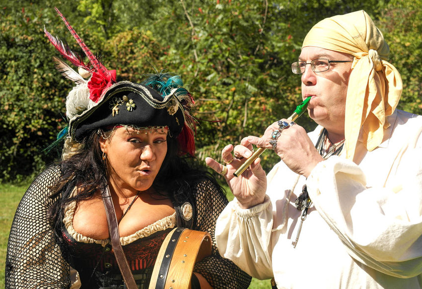 nautical rapscallions  — The Paddy Nappers perform at a past Royalty and Rogues festival.  (Photos submitted)