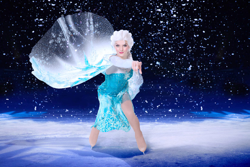 """ICE COLD — Audience members can enter the wintery world of Arendelle with Elsa from Disney's """"Frozen."""""""