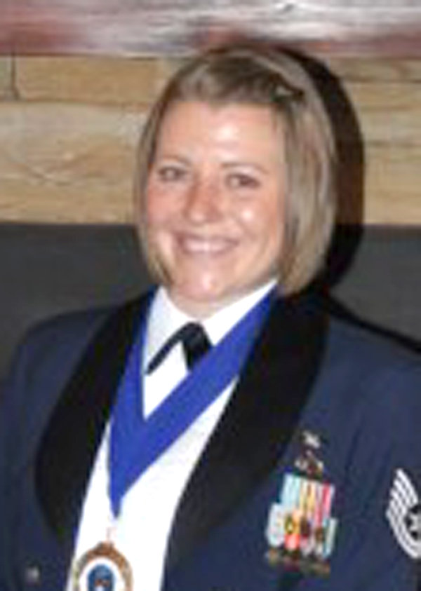 Erin Elaine Miller, was recently promoted to master sergeant in the Air Force. She is the daughter of Colin Miller, West Leyden, and the late Elaine R. Miller. (M)SGT. Miller is a member of the 5th Intelligence Squadron at Fort Morgan in Augusta, Ga. She is a 2002 graduate of Camden High School.