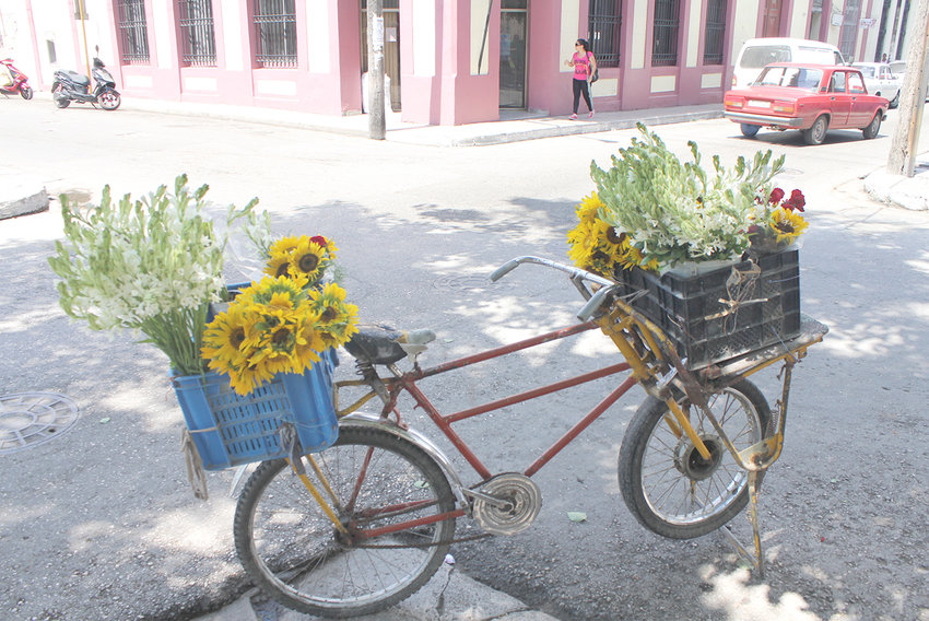 """TRIP ABROAD — Photo from """"Cuba: A Traveler's Glimpse"""" exhibit at Old Forge Library."""