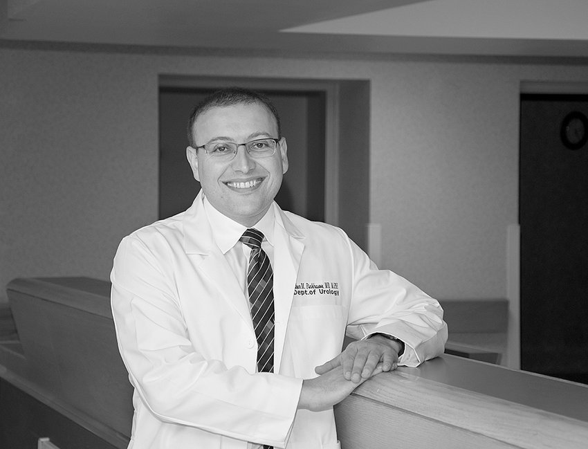 Specialist — Dr. Ruben Pinkhasov is accepting new patients and can be reached at 315-624-5252.