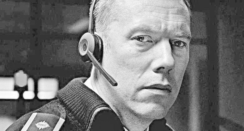 """Danish thriller — Jakob Cedergren in """"The Guilty"""""""