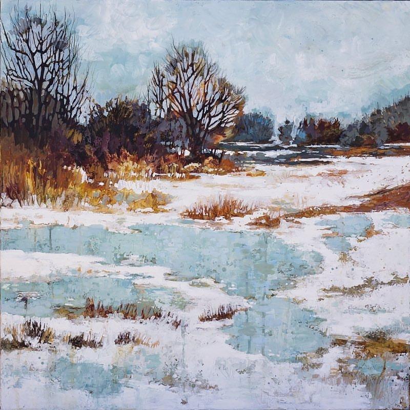 """Cooks Creek"" — Piece by Roberta Laliberte"