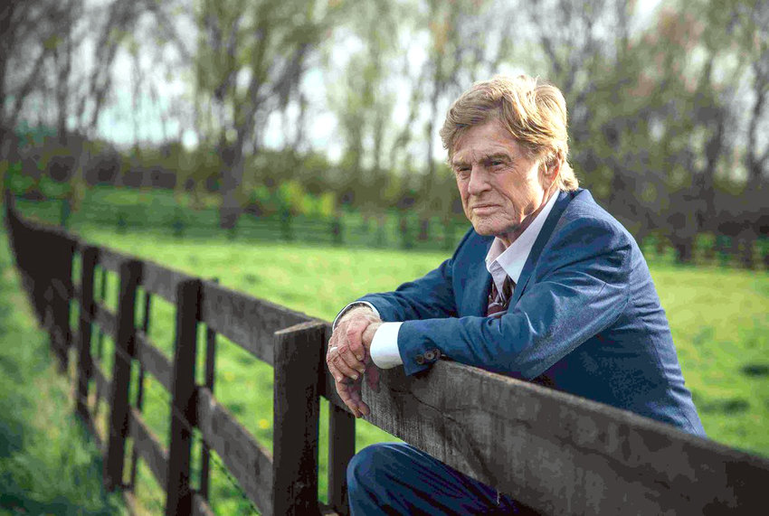 "SWAN SONG — Robert Redford as Forrest Tucker in ""The Old Man and the Gun"""
