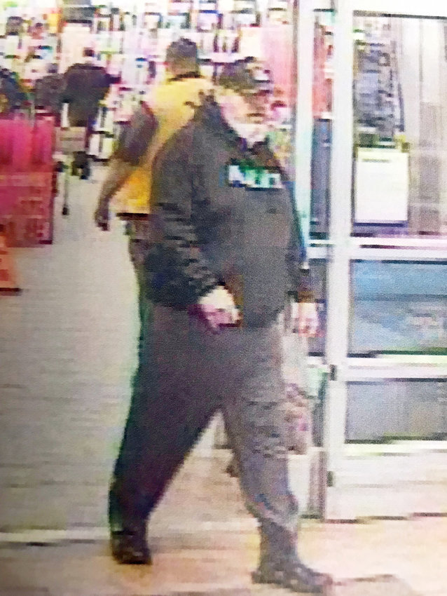 SUSPECTED GRINCH —Anyone who recognizes this suspected thief is asked to call state police at 315-366-6000. The man is believed to have stolen another customer's change at in the self-checkout area, troopers said.