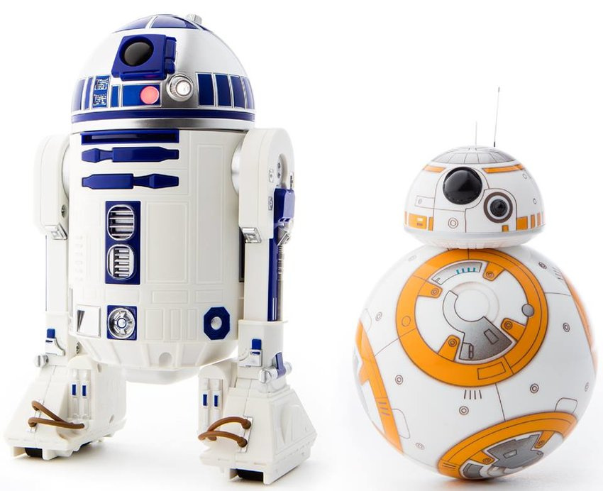 COME PLAY — On Thursday, Jan. 10 at 6 p.m. the library will host a demonstration of their two new Star Wars droids.