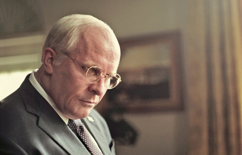 """VP — Christian Bale as Dick Cheney in Adam McKay's """"Vice."""""""