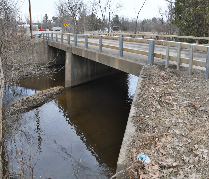 TROUBLED BRIDGE —The Seifert Road bridge over Wood Creek, shown on Friday, is scheduled to for replacement. The city signed a contract with LaBella Associates of Rochester for designs for the project for $262,700.