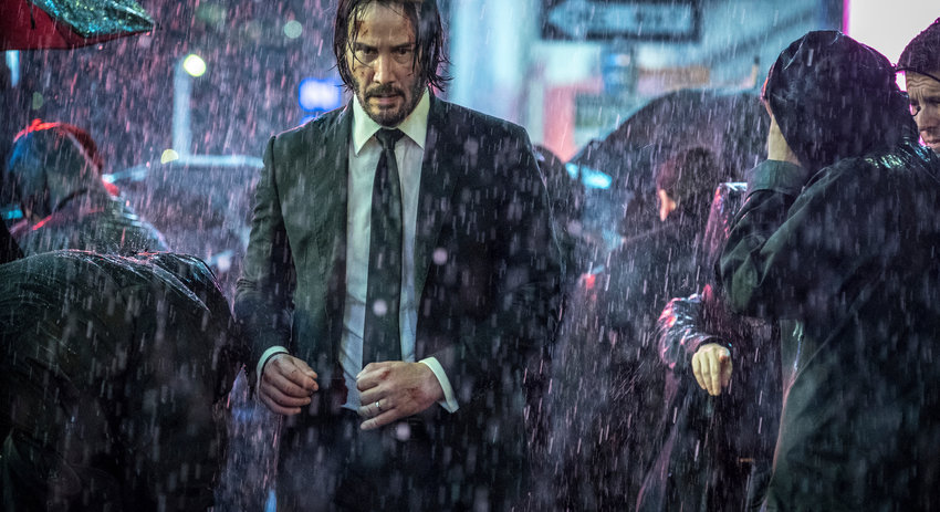 """Chapter 3 — Keanu Reeves in a scene from """"John Wick: Chapter 3 - Parabellum."""""""