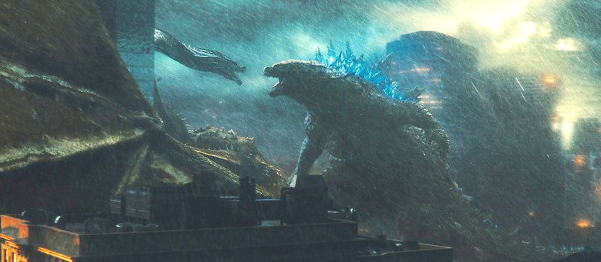 """This image released by Warner Bros. Pictures shows a scene from """"Godzilla: King of the Monsters."""" (Warner Bros. Pictures via AP)"""