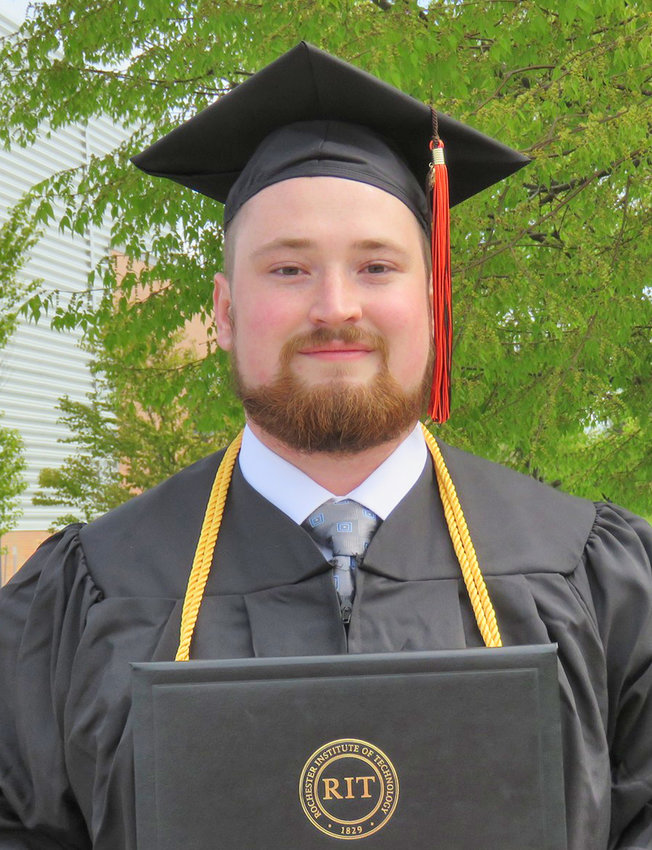 Erich Metzger, son of Richard and Mary Metzler, Family Circle, Lee Center, has earned a bachelor's degree, cum laude, in chemical engineering from Rochester Institute of Technology. He will be attending the University of Oklahoma to pursue a doctorate in chemical engineering.