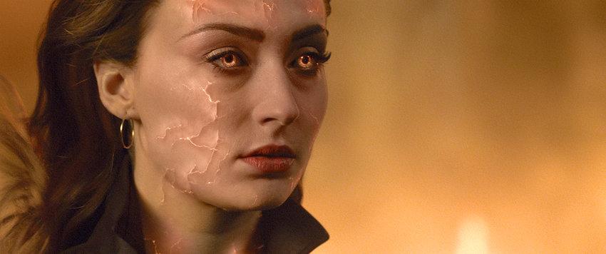 "Sophie Turner stars as Jean Grey in a scene from ""Dark Phoenix."""
