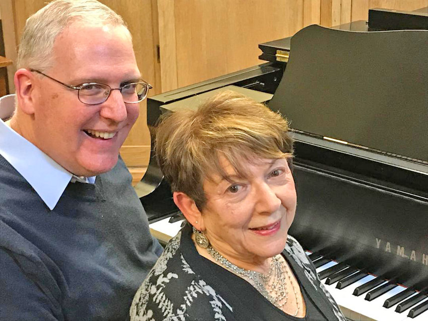 DUELING PIANISTS — Bruce Smith and Jo Ann Geller