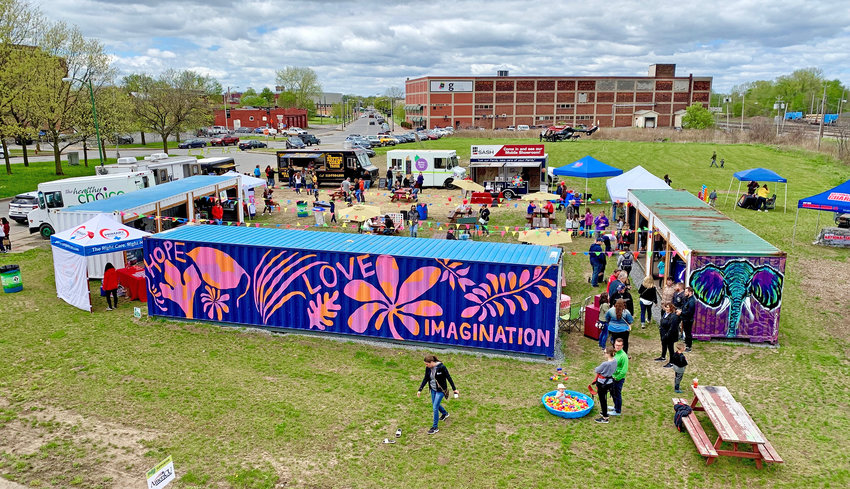 HANDSHAKE.CITY —Christmas in July is coming to downtown Utica — a new event from Made In Utica to be held Friday, July 12, from 4 to 8 p.m. at the Handshake.City container park in Bagg's Square.