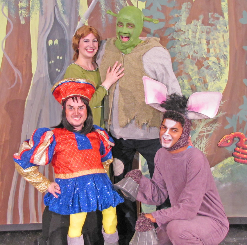 FAIRYTALE COMES TO LIFE — Capitol Theatre, 220 W. Dominick St., will feature the SummerStage musical Shrek, based on the popular Oscar-winning DreamWorks animated fairytale adventure, at 7:30 p.m. tonight through Saturday. Shrek brings all the beloved characters from the film to life on stage and proves there's more to the story than meets the ears. Tickets are $19 for adults; $18 for seniors age 62 and older; $18 for military; $17 for Friends of the Capitol; and $14 for children ages 12 and younger. (Photo submitted)