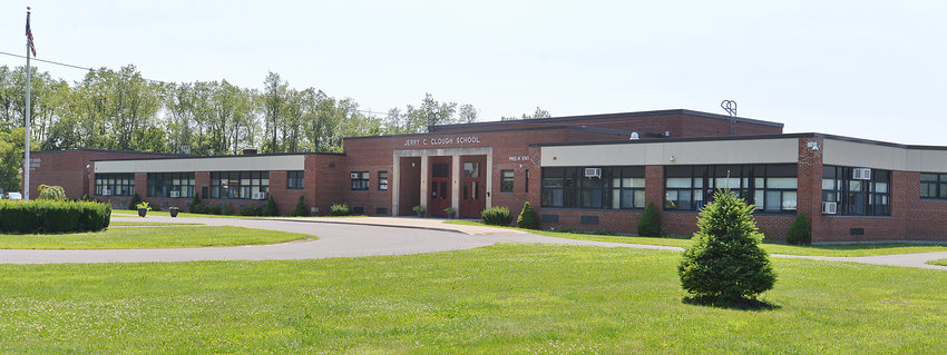 EYED FOR NEW STALEY — The former Clough Elementary School building at 409 Bell Road,  which currently includes the Rome school district's central offices and pre-Kindergarten program, may be expanded and converted to become a new location for Staley Elementary School. The move is part of a proposed capital project being considered by the Board of Education.