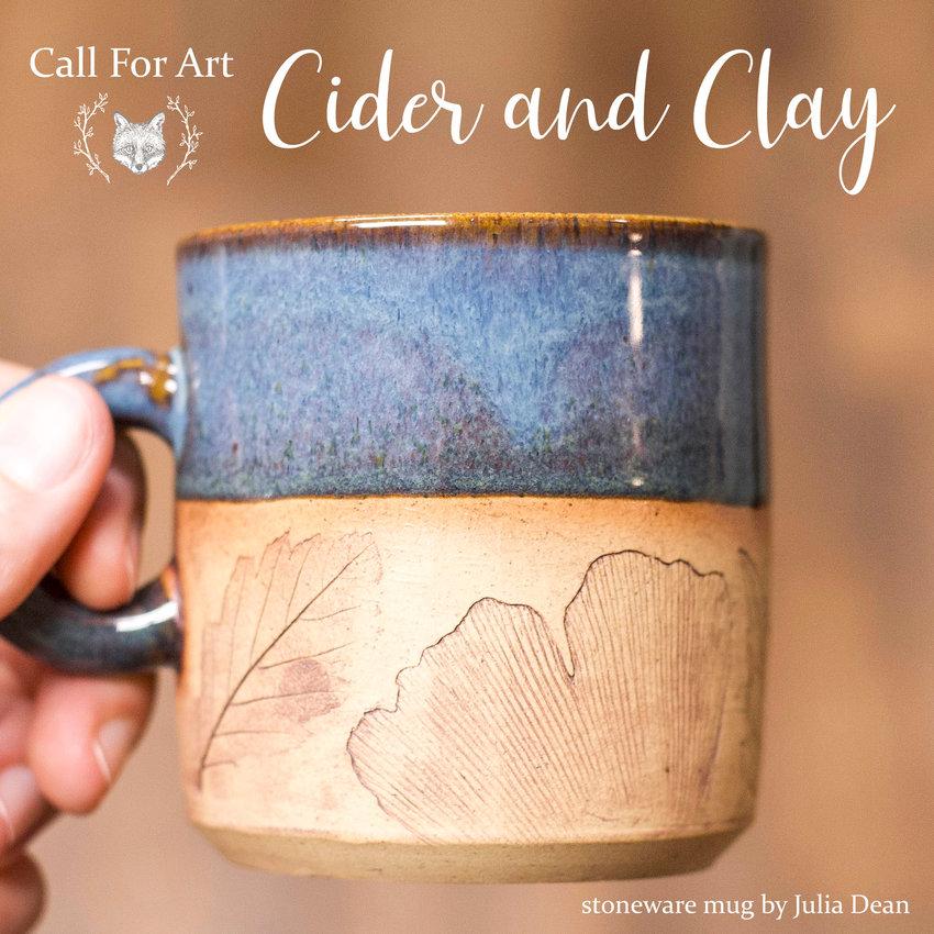 CIDER and CLAY — Stoneware mug by Julia Dean