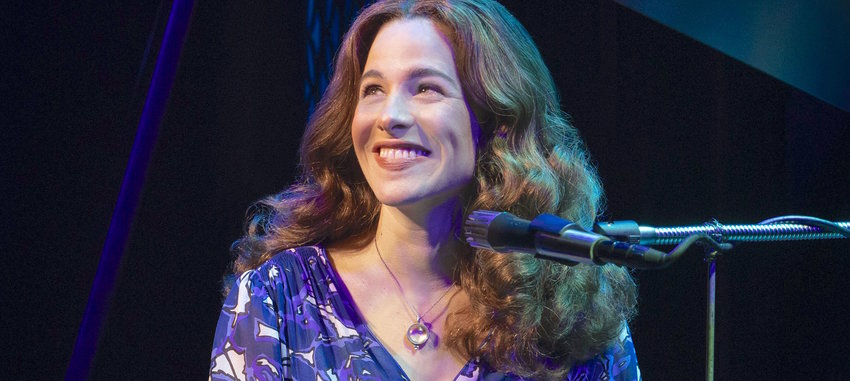 BEAUTIFUL TRIBUTE — Sarah Bockel in the role of Carole King. Kennedy Caughell will take over the role starting Sept. 20 in Utica.