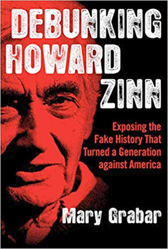 "NEW BOOK — Dr. Mary Grabar, resident fellow at the Alexander Hamilton Institute in Clinton, recently released her new book, which she said, exposes Howard Zinn to plagiarism and falsities in his book, ""A People's History of the United States."""