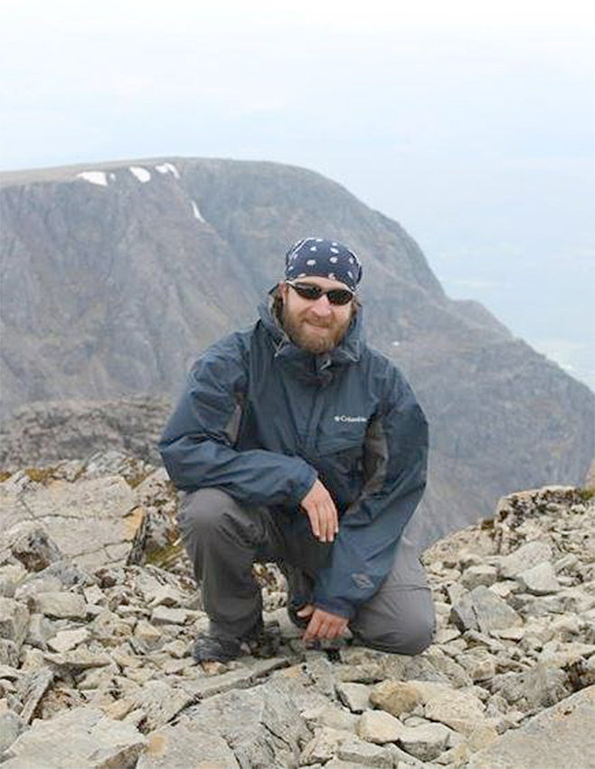 REACHING GREAT HEIGHTS — Bryan Michael Washburn, of Clinton, along with David Swierczek, of Utica, are setting out to climb Mount Kilimanjaro, in Africa's Republic of Tanzania, in early October to help raise awareness and funding for author J.K. Rowling's charitable organization, Lumos.