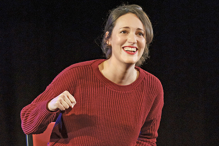 "STAR — Phoebe Waller-Bridge, writer and star of ""Fleabag."" The one-woman show has been acclaimed globally and was adapted into the hit television show of the same name."