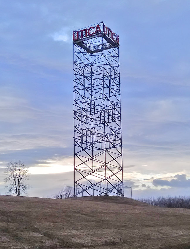 TOWER SAVED — Oneida County will take over the Utica Tower along the Erie Canal after the organization that maintains it says it can no longer afford it after two incidents in which an intruder broke through a security fence and climbed the 12-story landmark.